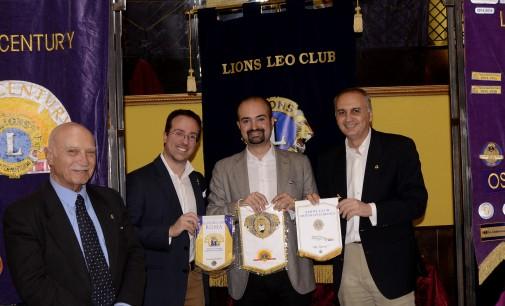 Gemellaggio a Tre Lions Club Ostuni Città Bianca, Roma Parioli New Century e Liona Leo Roma
